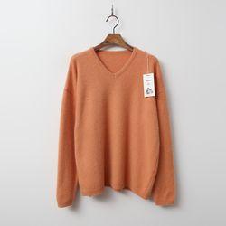 Raccoon N Fox Wool V-Neck Sweater