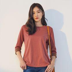 배색 티셔츠 (5color) DALA19W02