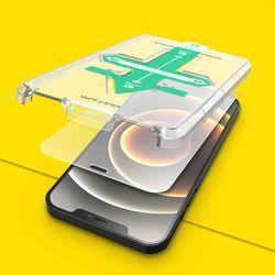 아이폰 12 시리즈 이지 부착 키트 2.5D 강화유리 액정보호필름