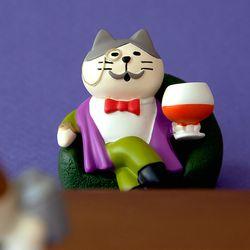 데꼴 2020 고양이 BAR 피규어 백작고양이