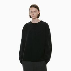 THICK SEMI OVER KNIT BLACK