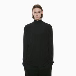 URBAN HALF NECK T-SHIRTS BLACK