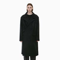 MODERN BELT MAXI COAT BLACK