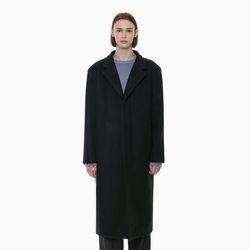 PREMIUM WOOL SINGLE COAT BLACK