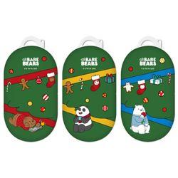 위베어베어스 크리스마스 일상 갤럭시 버즈 하드케이스