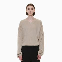 RICH SOFT KNIT BEIGE