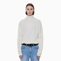 STANDARD TURTLENECK KNIT IVORY