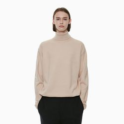 STANDARD TURTLENECK KNIT BEIGE