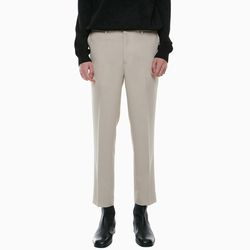 TENSION BENDING SLACKS BEIGE