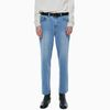 ORDINARY WASHING DENIM PANTS LIGHT BLUE