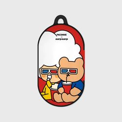 [EARPEARPxCGV]paconnie and covy 3D glass-red(Buds hard case)