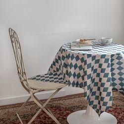 쉐어빈티지아가일 식탁보 테이블보 120x120cm