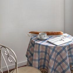 쉐어인디파스텔 식탁보 테이블보 120x120cm