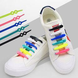 신발끈 컬러 운동화끈 실리콘 운동화스트랩 42개 1set