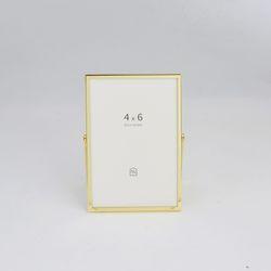 골드 메탈 프레임 4x6