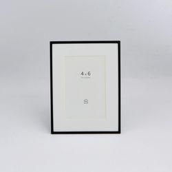 블랙 메탈 프레임 4x6