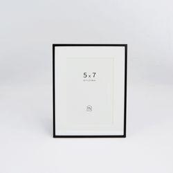 블랙 메탈 프레임 5x7