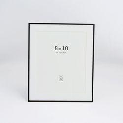 블랙 메탈 프레임 8x10