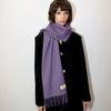 울100 퍼플 머플러 _ Wool 100 Purple Muffler