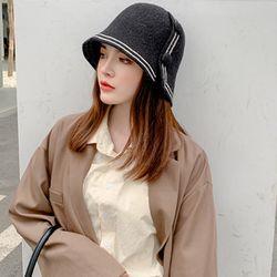 엘레강스 니트 벙거지모자 여성 겨울 모자