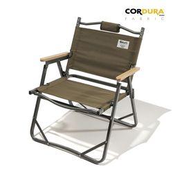 디얼스 코듀라 캠핑 폴딩 접이식 의자 Vol.1 (올리브)