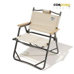 디얼스 코듀라 캠핑 폴딩 접이식 의자 Vol.1 아이보리