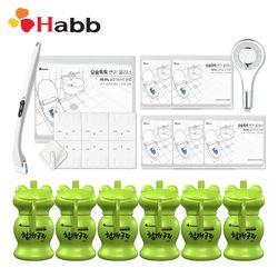 하비비 실속세트 변기세정제6개+요술톡톡1세트+샤워헤드