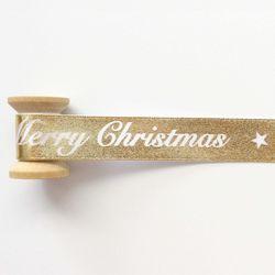 골드크리스마스리본 90cm