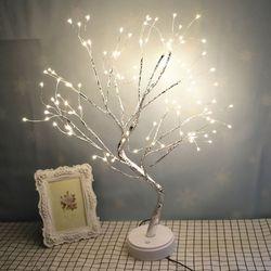 반딧불 무드등 인테리어 LED 조명 장식품 나무모양