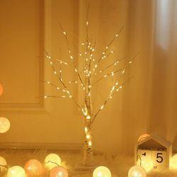겨울감성 무드등 A형 인테리어 LED 조명 나무모양