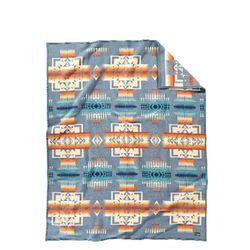 기모처리 된 자카드 블랭킷 로브 담요 치프 조셉 슬레이트
