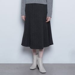 W19 tom herringbone skirt charcoal