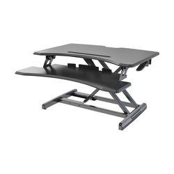 스탠딩 유압 수동식 높낮이조절 중형 스탠워크 책상 PSWM3