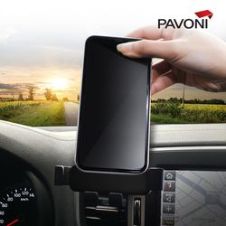 파보니 차량용 스마트폰 중력 거치대 핸드폰거치대