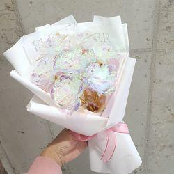 홀로그램장미 꽃다발 7송이