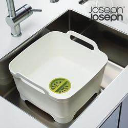 조셉조셉 물빠짐 설거지통 (화이트)
