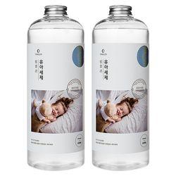 팅클러 유아세제 1L 천연유아용품세탁세제 2개 세트