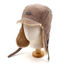 Brown Corduroy Trooper Hat 귀달이모자