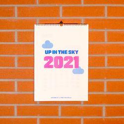 2021 에어포트 캘린더 벽걸이형