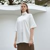 warm half sleeve T-shirt - ivory
