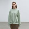 solid loose napping sweatshirt - mint