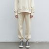 basic wearable jogger pants - cream ivory