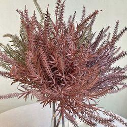빈티지 라벤더 묶음 3color - 인테리어조화 실크플라워