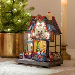 클래식 멜로디하우스 2종 8가지 캐롤재생 크리스마스
