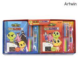 4000 신비아파트 컬러 드로잉북 BOX(10)
