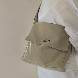 227 이이칠 cozy BIG 2 WAY BAG [ GOLDEN BEIGE ]