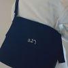 227 이이칠 cozy BIG 2 WAY BAG [ BLACK ]
