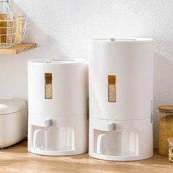 인블룸 스마트 원터치 자동계량 쌀통 2종 택1