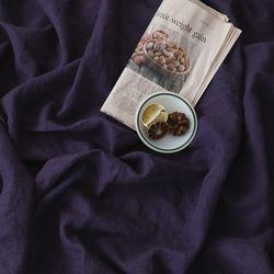 [Fabric] 백마포 로얄 바이올렛 - 퓨어린넨 캔버스