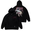 SKATE OVERSIZED HEAVY SWEAT HOODIE BLACK